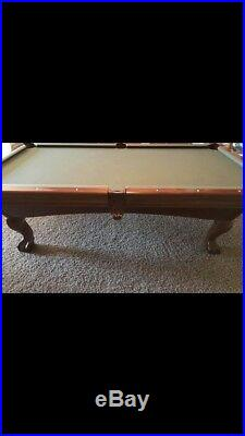 Brunswick Bradford 8 Foot Slate Pool Table with Accessories