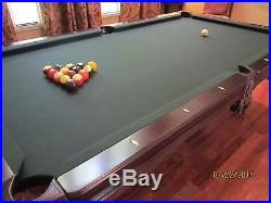 Brunswick Bradford 8 ft Pool Table and Accessories