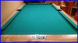 Brunswick Bristol Oak 7 ft. Slate Pool Table in Excellent condition