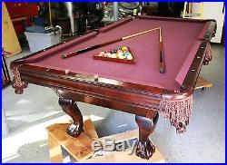 Billiards Tables Blog Archive Brunswick Brookstone Pro - Brunswick brookstone pool table