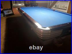 Brunswick Centennial Pool Table 4 1/2 X 9 In Original Condition