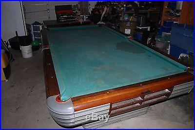 Brunswick Centennial Pool Table Slate Top