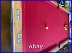 Brunswick Century Pool Table 8 foot
