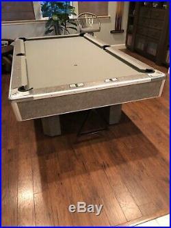 Brunswick Century Supreme Gray Pool Table Set Used