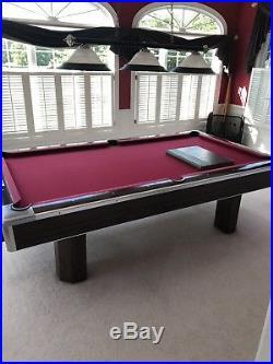 Brunswick Century pool table 9Ft