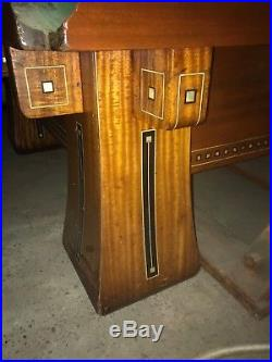 Brunswick Collendar Snooker billiards pool table Kling II Antique SALE