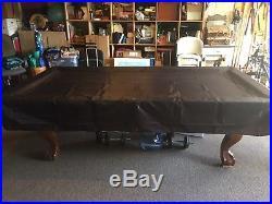 Brunswick Contender 8' Pool Table