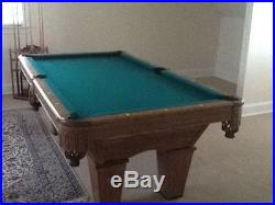 Brunswick Contender Pool Table Used