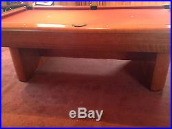 Brunswick Gibson 8' Pool Table and Accessories