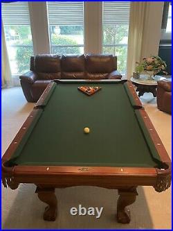 Brunswick Glenwood Pool Table BUNDLE MINT CONDITION