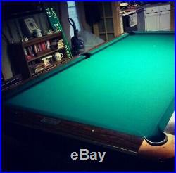Brunswick Gold Crown 3 Pool Table 9