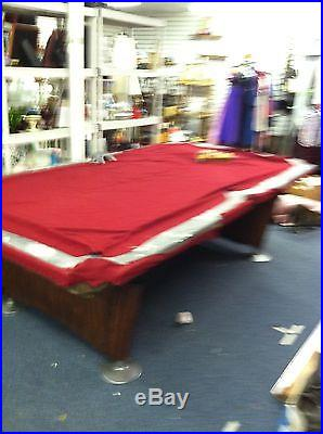 Brunswick Gold Crown 4 1/2 by 9 ft Professional Pool Table