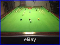 Brunswick Gold Crown 6x12' Snooker Table