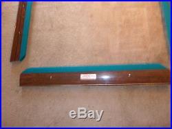 Brunswick Gold Crown III 4 1/2' by 9' pool table
