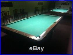 Brunswick Gold Crown III 4 1/2 x 9 Feet Regulation Size Pool Table