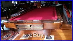 Brunswick Gold Crown III 9' Pool Table