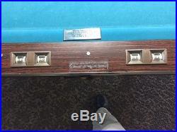 Brunswick Gold Crown III 9-foot pool table