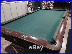 Brunswick Gold Crown III Pool Table NO RESERVE