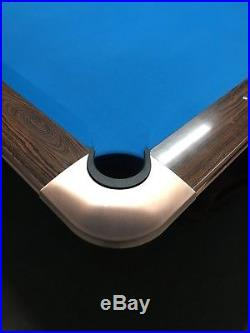 Brunswick Gold Crown III Pool Table from mid to late 1970s