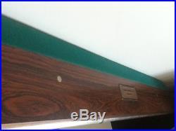 Brunswick Gold Crown III Professional Pool table