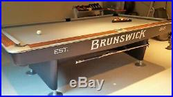 Brunswick Gold Crown II pool table - 9 foot