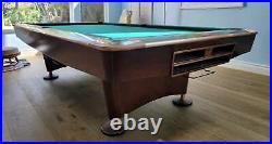 Brunswick Gold Crown IV (4) 9 foot pool table