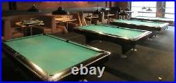Brunswick Gold Crown IV Black Matt 9' Pool Table