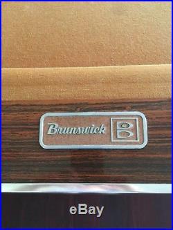 Brunswick Gold Crown Regulation Size Rare Vintage Pool Table
