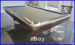 Brunswick Gold Crown V (5) 9 foot pool table