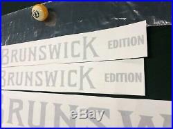 Brunswick Goldcrown Pooltable Tournament Decals Originals