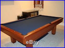 Brunswick, Hawthorne, 2008 Pool Table, see details