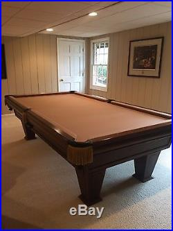 Brunswick Heirloom 9 foot Pool Table