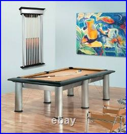 Brunswick Manhattan Modern Pool Table 8' or 9', Free Shipping or Local Delivery