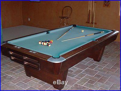 Brunswick Medalist 4' X 8' Professional pool table