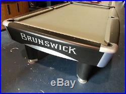 Brunswick Metro 9' Tournament Edition Pool Table