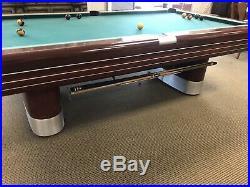 Brunswick Mid Century Modern Pool Table 1945 CW3001