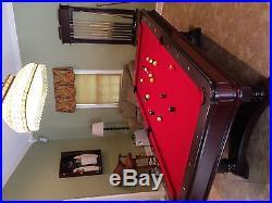 Brunswick Montebella 4x8 Pool Table