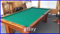 Brunswick Oakland Pool Table Brand New! 8 Ft