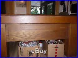 Brunswick (Patterson & Hoffman) 10ft x 5ft Vintage 6 Leg Snooker Pool Table