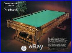 Brunswick Pinehurst Centennial Pool Table
