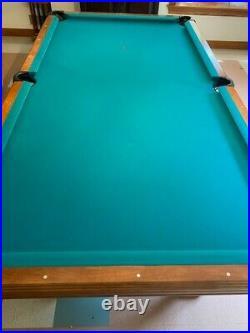 Brunswick Pocket Billiard Pool Table 93 Commercial Quality Home Model LF