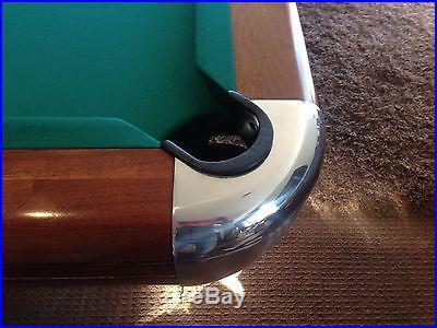 Brunswick Pool Table 1946 4' x 8' Tournament Vintage Pool Table
