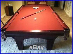 Brunswick Pool Table Bradford 9foot
