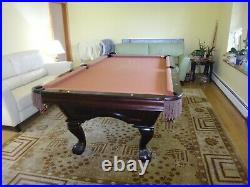 Brunswick Pool Table Slate 8FT Beautiful