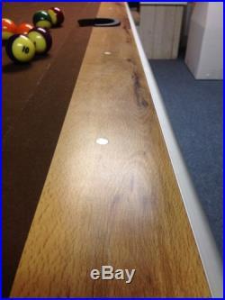 Brunswick Pool Table With Ball Return 8 FT VERY NICE