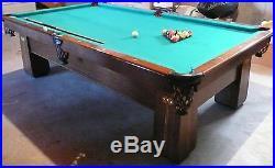 Brunswick Regina Pool Table withAccessories