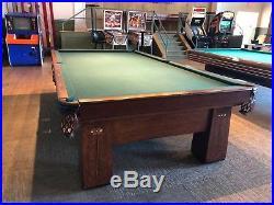 Brunswick Regina Snooker Table
