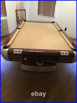 Brunswick Restored Mid Century 8 foot Anniversary pool table