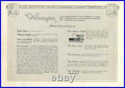 Brunswick Snooker Table WILMINGTON 1923 6 LEG 5 x 10 Antique Rare Collector