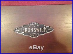 Brunswick Treviso Espresso Pool Table